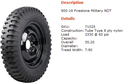 Military Tires on Firestone Military Ndt  Size      Scale 4x4 R C Forums